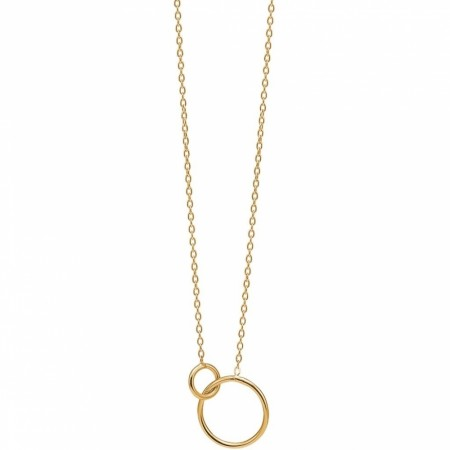 Necklace Double Circle
