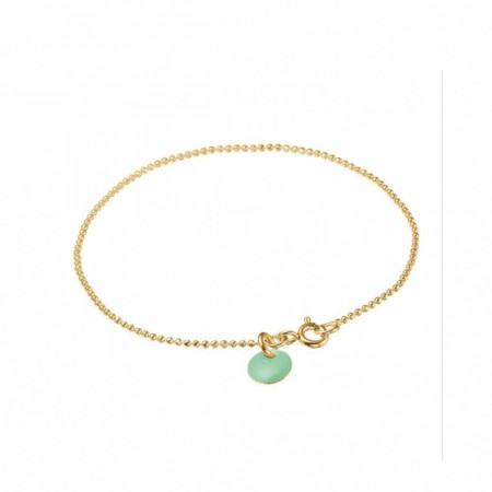 Ball Chain Bracelet Dusty Green