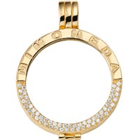 Pendant Gold-plated Deluxe M