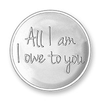 Rose-Owe to you silver-plated M