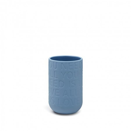 Love Song Vase Indigo