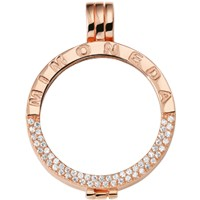 Pendant Rosegold-plated Deluxe L