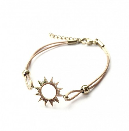 Sunshine Bracelet goldplated