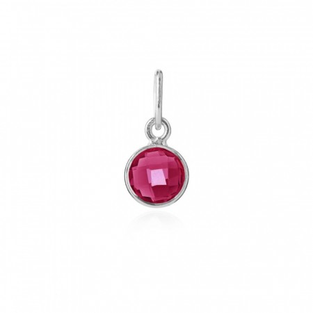 Pendant Pink Crystal