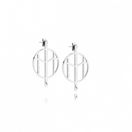 Mockberg Earrings Silver Small
