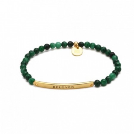 BELOVED BRACELET GREEN/GOLD