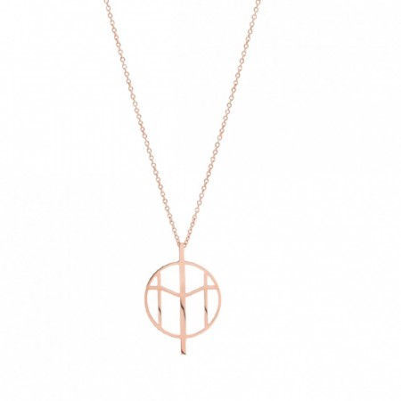 Mockberg Necklace Rose Gold Large