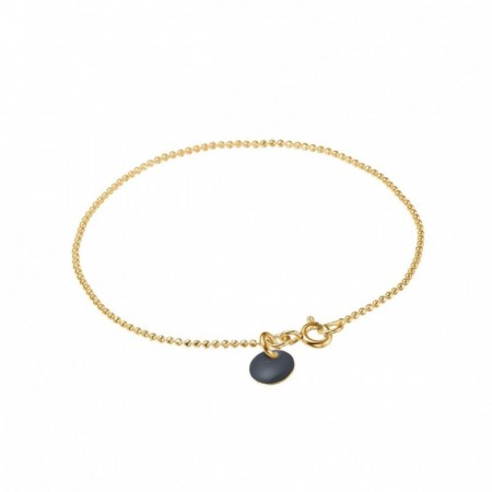 Ball Chain Bracelet Dark grey
