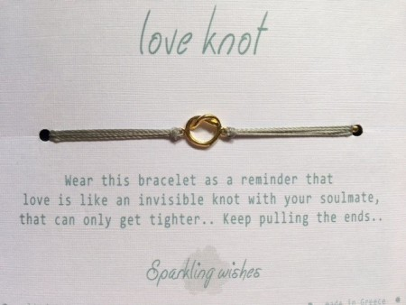 Sparkling Wishes Love Knot