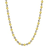 Necklace Alegre Silver Gold-plated 80cm