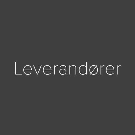 LEVERANDØRER