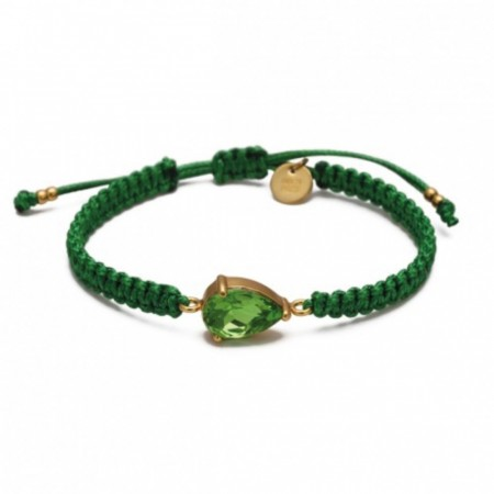 CAPRI BRACELET GREEN/GOLD