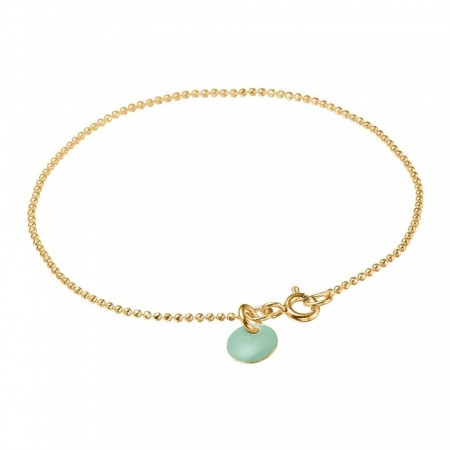 Ball Chain Bracelet  Mint