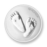 Baby feet-te quiero silver-plated S