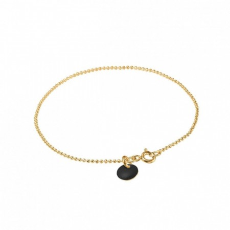 Ball Chain Bracelet Black