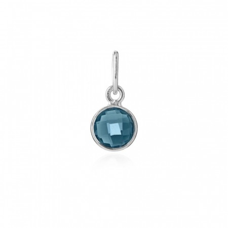 Pendant London Blue Crystal