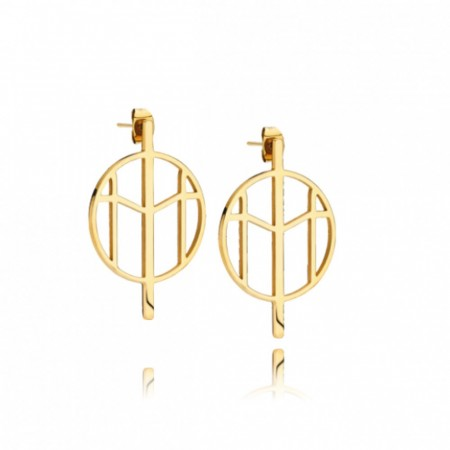 Mockberg Earrings Gold