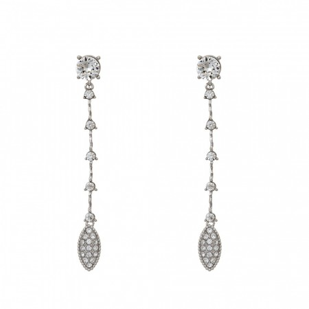 Ada Earrings - Crystal
