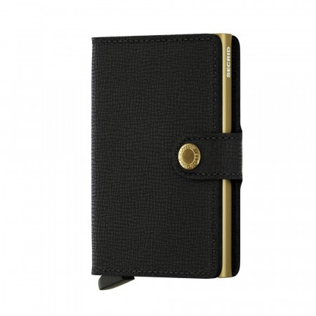 Miniwallet MC black gold