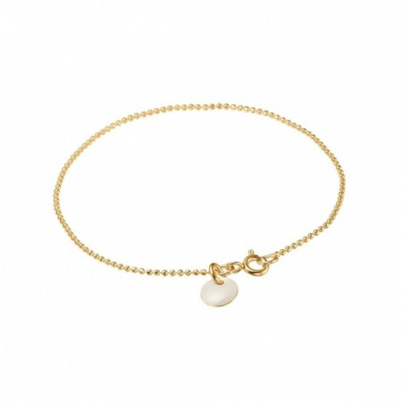 Ball Chain Bracelet White
